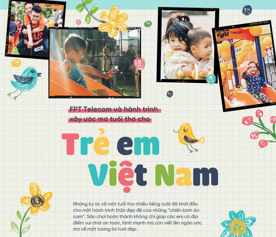 FoxSteps FPT Telecom – Chiến dịch xây dựng tuổi thơ cho trẻ em Việt Nam